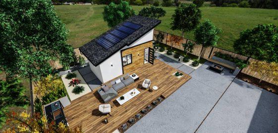 Studio Medium ADU 250 square feet for ADU Catalog by Multitaskr in San Diego County