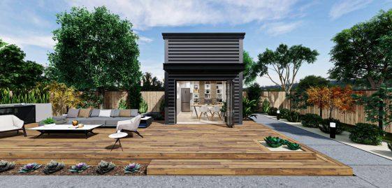 Office Premium ADU 200 square feet for ADU Catalog by Multitaskr in San Diego County