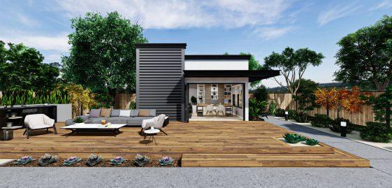 Office Premium ADU 250 square feet for ADU Catalog by Multitaskr in San Diego County