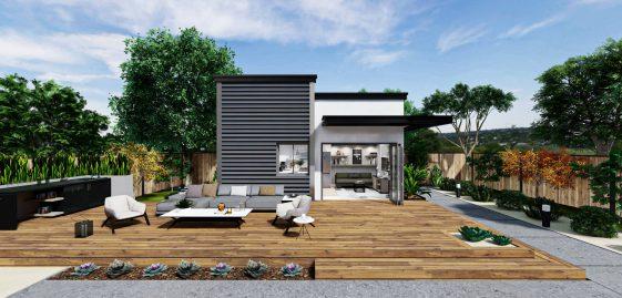 Studio Premium ADU 250 square feet for ADU Catalog by Multitaskr in San Diego County