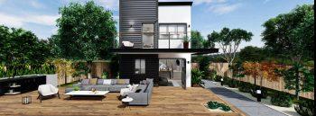 Detached Premium ADU 2 Levels 400 square feet for ADU Catalog by Multitaskr in San Diego County