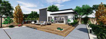 Detached Premium ADU 500 square feet for ADU Catalog by Multitaskr in San Diego County