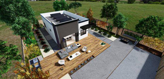 Detached Premium ADU 750 square feet for ADU Catalog by Multitaskr in San Diego County