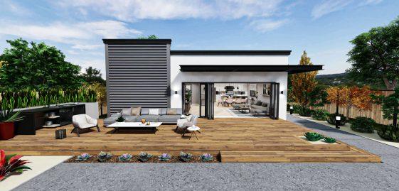 Detached Premium ADU 1200 square feet for ADU Catalog by Multitaskr in San Diego County