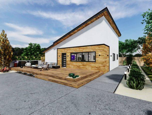 Detached Medium ADU 1200 square feet for ADU Catalog by Multitaskr in San Diego County