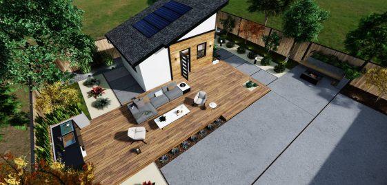Detached Medium ADU 300 square feet for ADU Catalog by Multitaskr in San Diego County