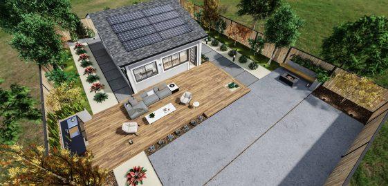 Detached Standard ADU 650 square feet for ADU Catalog by Multitaskr in San Diego County