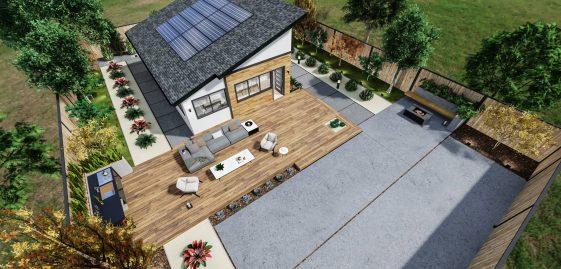 Detached Medium ADU 650 square feet for ADU Catalog by Multitaskr in San Diego County