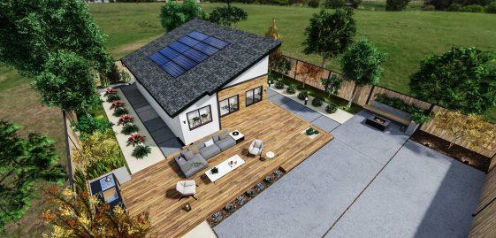 Detached Medium ADU 750 square feet for ADU Catalog by Multitaskr in San Diego County